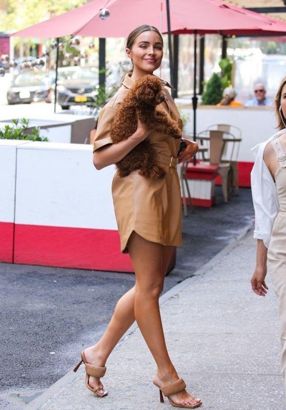 Olivia Culpo Cute Street Style - New York City 06/15/2021