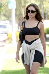 Olivia Culpo in Gym Ready Outfit - West Hollywood 06/01/2021