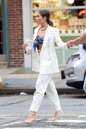 Olivia Culpo is Stylish - West Village, New York 06/13/2021