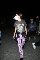 Olivia Rodrigo at Six Flags in Valencia, California 06/29/2021