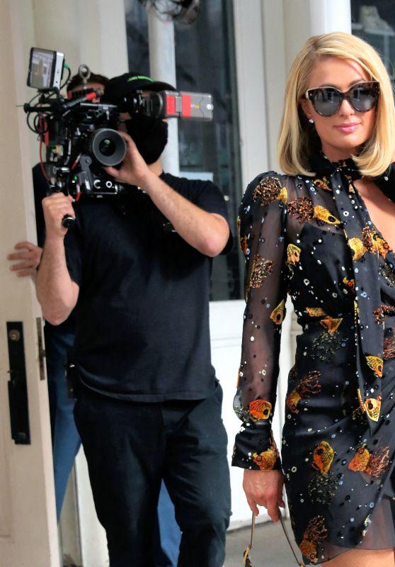 "Paris Hilton and Carter Milliken Reum - ""This is Paris"" Premiere at Tribeca Film Festival in NYC 06/20/2021"