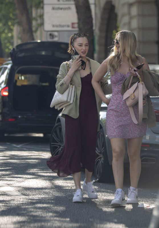 Phoebe Dynevor - Out in London 05/30/2021