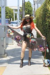 Phoebe Price - Shopping in Beverly Hills 06/15/2021