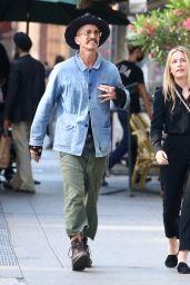 Piper Perabo With Her Husband in Soho, NY 06/14/2021