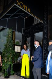 Priyanka Chopra - Indian Restaurant Sona Opening in NY 06/25/2021