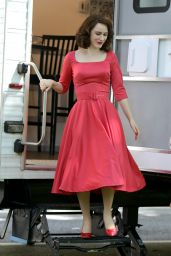 """Rachel Brosnahan - """"The Marvelous Mrs Maisel"""" Set in New York 06/13/2021"""
