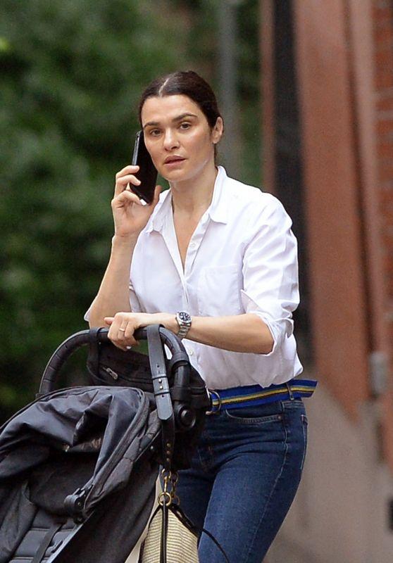 Rachel Weisz - Out in Brooklyn 06/22/2021