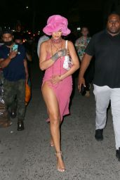 Rihanna Night Out Style - Barcade in New York 06/23/2021