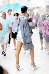 Rihanna Street Fashion - NYC 06/29/2021
