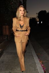 Rita Ora Night Out Outfit - Craig's in West Hollywood 06/14/2021