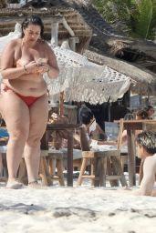 Rocio Caballero Camacho on the Beach in Tulum 06/01/2021
