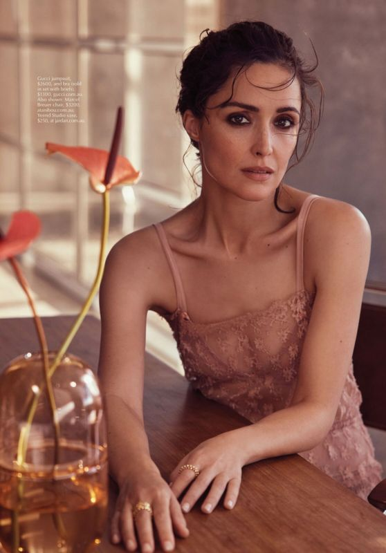 Rose Byrne - Marie Claire Australia July 2021 Issue