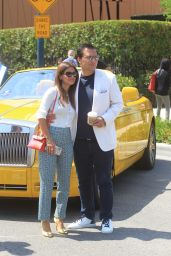 Roxy Sowlaty at the Concourse D'Elegance in Beverly Hills 06/20/2021