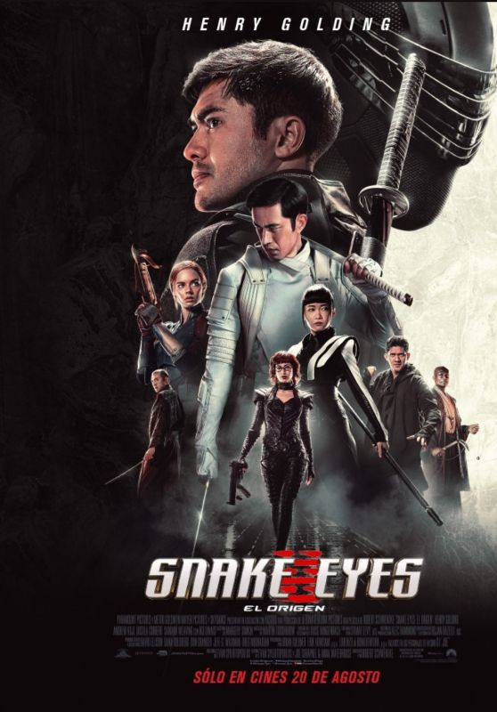"Samara Weaving - ""Snake Eyes G.I. Joe Origin"" Posters and Videos"
