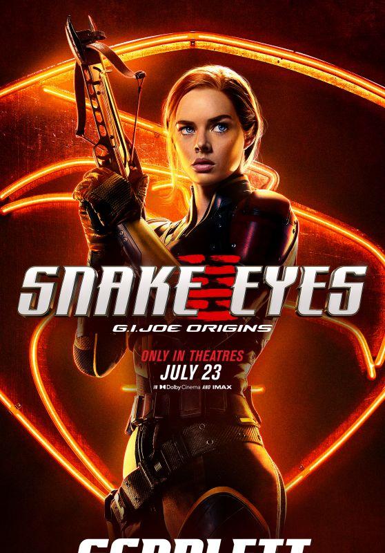 "Samara Weaving – ""Snake Eyes: G.I. Joe Origins"" Poster"