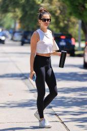 Sara Sampaio in Yoga Pants - West Hollywood 06/04/2021