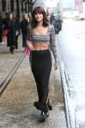 Sarah Ellen at Afterpay Australian Fashion Week Street Style in Sydney 06/03/2021