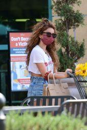Sarah Hyland Street Style - Shopping in LA 06/16/2021