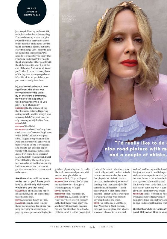 Sarah Paulson – The Hollywood Reporter 06/02/2021 Issue