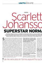 Scarlett Johansson - Télé 7 Jours 3-9 July 2021 Issue
