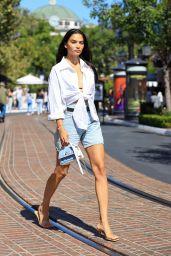 Shanina Shaik is Stylish - Coach Event in West Hollywood 06/26/2021