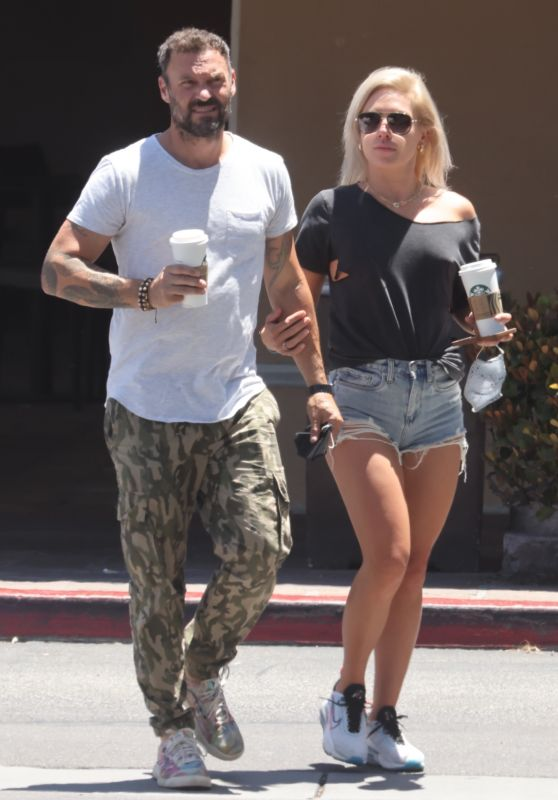 Sharna Burgess and Brian Austin Green - Out in Malibu 06/08/2021