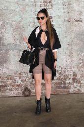 Shirin Heidari at Afterpay Australian Fashion Week Street Style in Sydney 06/02/2021