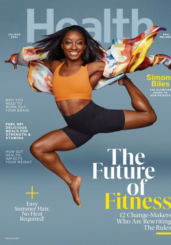 Simone Biles - Health Magazine July/August 2021 Issue