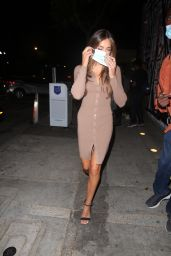 Sistine Stallone at Craigs in West Hollywood 06/12/2021