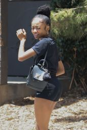 Skai Jackson - Out in Los Angeles 06/02/2021