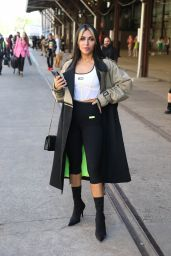 Sogand Mohtat at Afterpay Australian Fashion Week Street Style in Sydney 06/02/2021