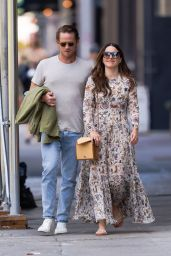 Sophia Bush and Grant Hughes - Out in NYC 06/18/2021