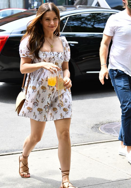 Sophia Bush - Out in NYC 06/19/2021