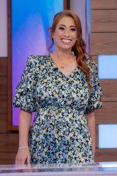 Stacey Solomon - Loose Women TV Show in London 06/11/2021