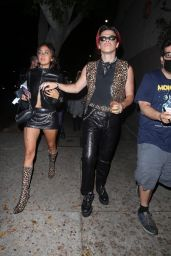 Stella Maxwell and JoJo Stark Night Out - West Hollywood 06/10/2021