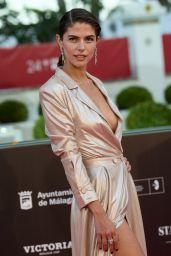 "Stephanie Cayo - ""Con Quien Viajas"" Premiere at Malaga Film Festival"
