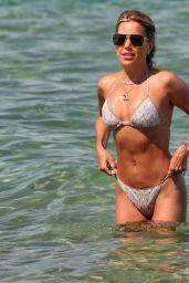Sylvie Meis in a Bikini at a Saint Tropez Beach 06/10/2021