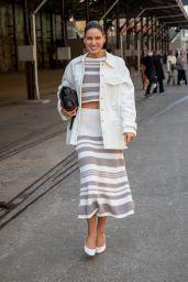 Tahnee Atkinson – Afterpay Australian Fashion Week Street Style in Sydney 06/01/2021