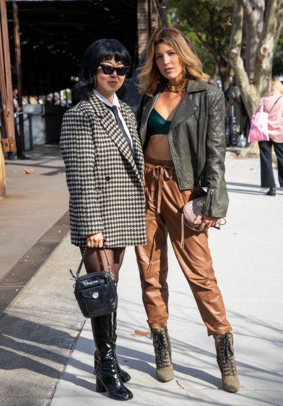Tanja Gacic - Afterpay Australian Fashion Week Street Style in Sydney 06/01/2021