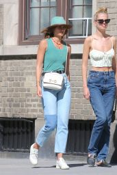 Taylor Hill Street Style - Out in New York 06/16/2021