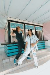 """Tinashe and Cheat Codes - """"Lean On Me"""" Single Photoshoot 2021"""