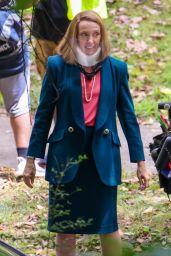 "Toni Collette - ""The Staircase"" Set in Atlanta 06/10/2021"