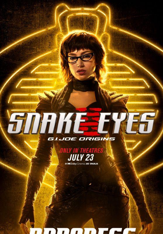 "Úrsula Corberó – ""Snake Eyes: G.I. Joe Origins"" Poster"