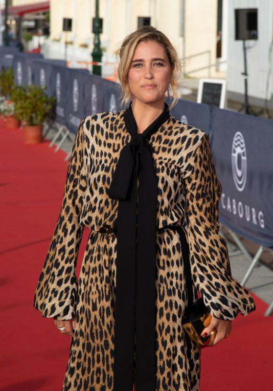 Vahina Giocante – 35th Cabourg Film Festival Red Carpet 06/11/2021