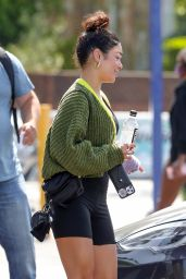 Vanessa Hudgens - Hits the Gym in West Hollywood 06/03/2021