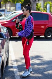Vanessa Hudgens - Leaving a Gym in West Hollywood 06/23/2021