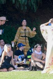 Vanessa Hudgens - Party in the Park in Los Angeles 06/03/2021