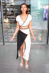 Vanessa Valladares at Afterpay Australian Fashion Week Street Style in Sydney 06/03/2021