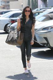 Vanessa Villela Carrying an oversized Louis Vuitton Bag in LA 06/03/2021