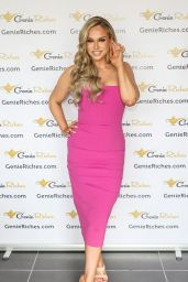 Vicky Pattison - Photoshoot for GenieRiches.com in London 06/04/2021